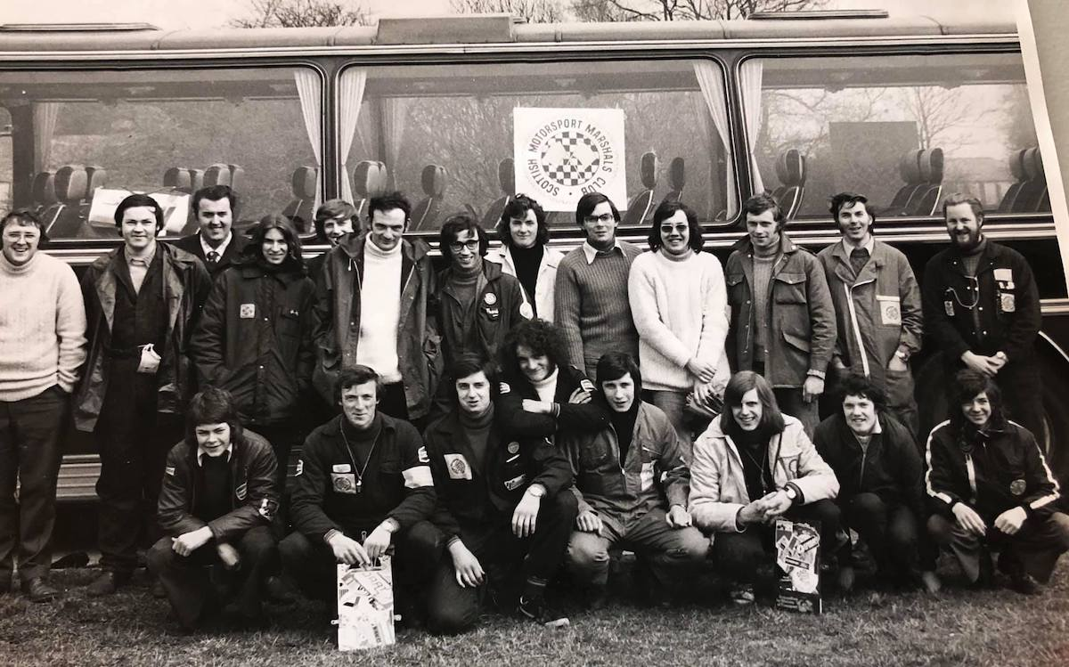 Marshal's Training Day - Croft, April 1974