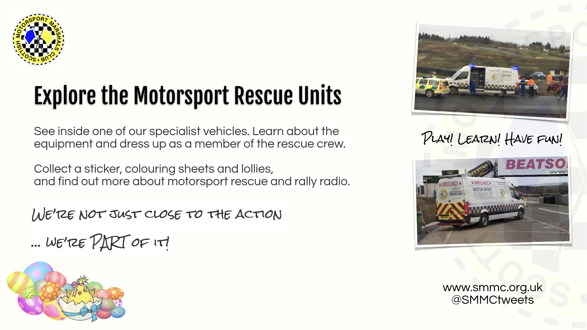 Explore a Rescue Unit at Knockhill