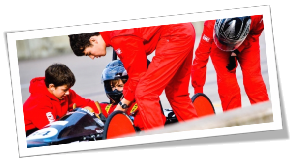 Greenpower Education Trust is a UK based charity which helps to unlock potential and spark enthusiasm for Science, Technology, Engineering and Maths (STEM) through the excitement of motorsport