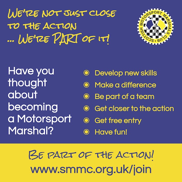 Have you considered becoming a motorsport marshal - join us!